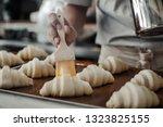Prepare Croissant For Bake In...