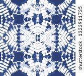 blue tone color tie dye vector... | Shutterstock .eps vector #1323911735