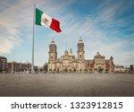 Zocalo Square And Mexico City...