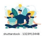 vector illustration  concept of ... | Shutterstock .eps vector #1323913448