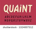 vector uppercase display...   Shutterstock .eps vector #1324007312