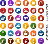 color back flat icon set  ... | Shutterstock .eps vector #1324014905