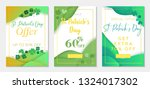 collection of three vouchers to ... | Shutterstock .eps vector #1324017302