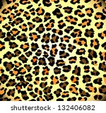 abstract leopard print | Shutterstock . vector #132406082