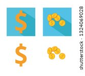 money vector icon. colorful...