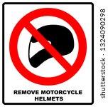 remove motorcycle helmets icon... | Shutterstock . vector #1324090298