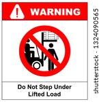 no people under raised forks.... | Shutterstock . vector #1324090565