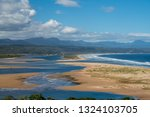 tributary to ocean in south... | Shutterstock . vector #1324103705