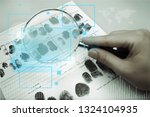 business analytics and... | Shutterstock . vector #1324104935