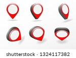 map pointer vector illustration.... | Shutterstock .eps vector #1324117382