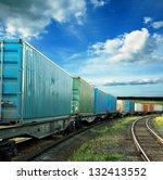 freight cars | Shutterstock . vector #132413552