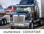 big rigs commercial cargo... | Shutterstock . vector #1324147265