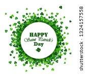 saint patrick's day vector... | Shutterstock .eps vector #1324157558