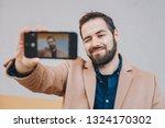 close up portrait of attractive ... | Shutterstock . vector #1324170302