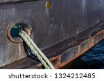 Mooring Rope For Fishing Boat....