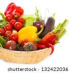 vegetables still life on the...   Shutterstock . vector #132422036