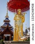 2019 wat ban den   temples of... | Shutterstock . vector #1324248908