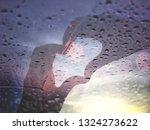 action hand of love in water...   Shutterstock . vector #1324273622