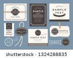 vintage simple cards   Shutterstock .eps vector #1324288835