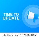 system software update or... | Shutterstock .eps vector #1324382045