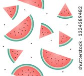 seamless pattern with... | Shutterstock .eps vector #1324389482