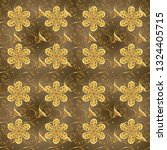 pictures in yellow and brown...   Shutterstock .eps vector #1324405715