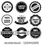 premium quality label... | Shutterstock .eps vector #132441005