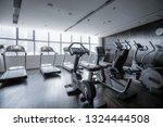 modern light gym. sports... | Shutterstock . vector #1324444508