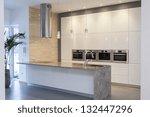 designers interior   kitchen in ... | Shutterstock . vector #132447296