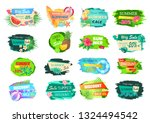 summer big sale banners set.... | Shutterstock .eps vector #1324494542
