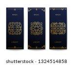 set of stylish art deco banners.... | Shutterstock .eps vector #1324514858