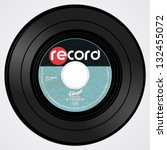vinyl record   Shutterstock .eps vector #132455072
