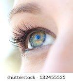 Close Up Beauty Portrait Of A...