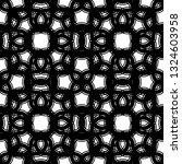 design seamless monochrome... | Shutterstock .eps vector #1324603958