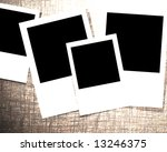 instant photo collection on a... | Shutterstock . vector #13246375