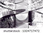 distressed background in black... | Shutterstock . vector #1324717472