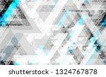 tech geometric camouflage... | Shutterstock .eps vector #1324767878