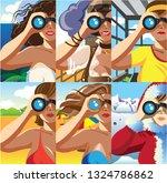 creative conceptual vector set. ... | Shutterstock .eps vector #1324786862