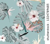 beautiful seamless vector... | Shutterstock .eps vector #1324789685