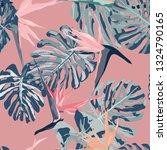 beautiful seamless vector... | Shutterstock .eps vector #1324790165