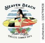 Surfer Woman.haven Beach .t...