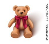 3d Realistic Baby Toy Teddy...