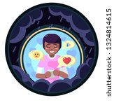 lover freand family cheer up... | Shutterstock . vector #1324814615