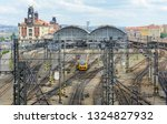 the main central railway... | Shutterstock . vector #1324827932