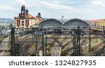 the main central railway... | Shutterstock . vector #1324827935