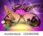 surf background | Shutterstock .eps vector #132483308
