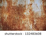 Small photo of Iron surface rust