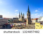 panorama of the market of halle ... | Shutterstock . vector #1324857482