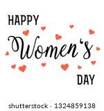 hand written lettering... | Shutterstock .eps vector #1324859138