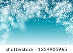 vector snow background. fantasy ... | Shutterstock .eps vector #1324905965
